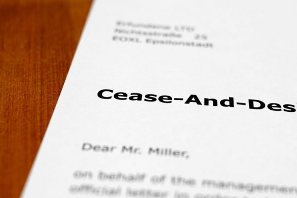 What Should I Do if My Business Receives a Cease and Desist Letter?